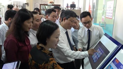 Hệ thống này là bước đột phá trong công tác cải cách hành chính trên các lĩnh vực quản lý nhà nước